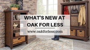 WHAT'S NEW AT OAK FOR LESS – MOSSY OAK FURNITURE