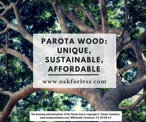 Parota Wood: Unique, Sustainable, Affordable