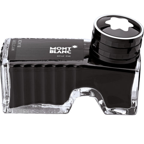 Montblanc Fountain Pen Fountain Pen Bottled Ink Mystery Black 105190