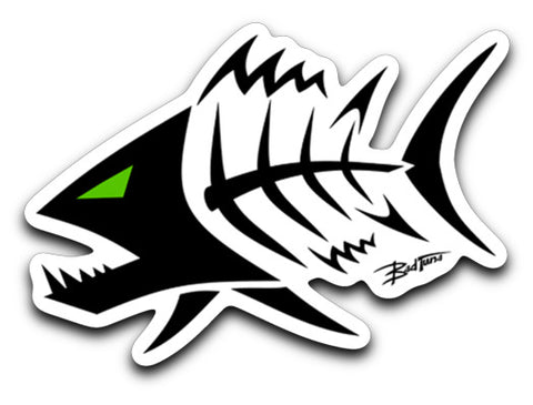 Bad Tuna T-shirt Co. ANGRY TUNA STICKER decals