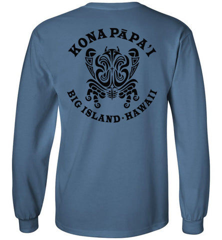 Bad Tuna T-shirt Co. KONA PAPA'I BIG ISLAND LONG AND SHORT SLEEVE T-SHIRT hi-50 local salt