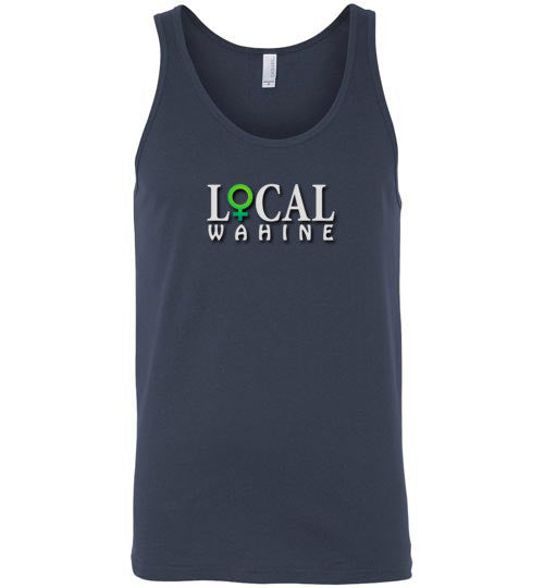 Bad Tuna T-shirt Co. LOCAL WAHINE LOGO TANK TOP local wahine