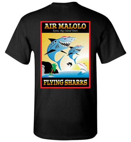 Bad Tuna T-shirt Co. AIR MALOLO FLYING SHARKS T-SHIRT badtuna