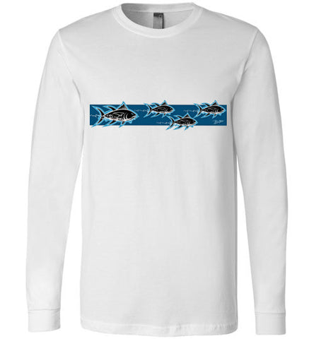 Bad Tuna T-shirt Co. AHI HUNTERS FISH LONG SLEEVE T-SHIRT badtuna