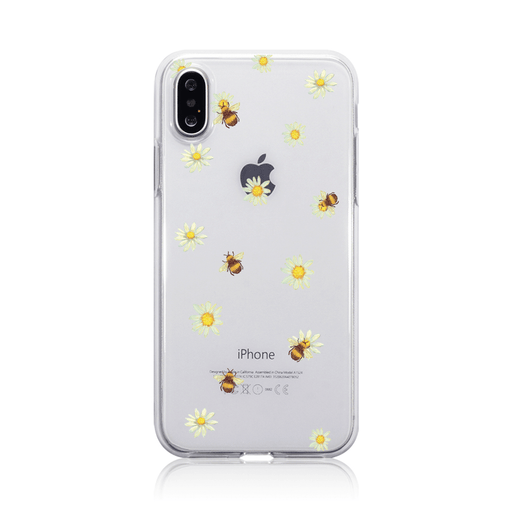 Call Candy Cases Honey Bees Case for Apple iPhone X/XS by Call Candy