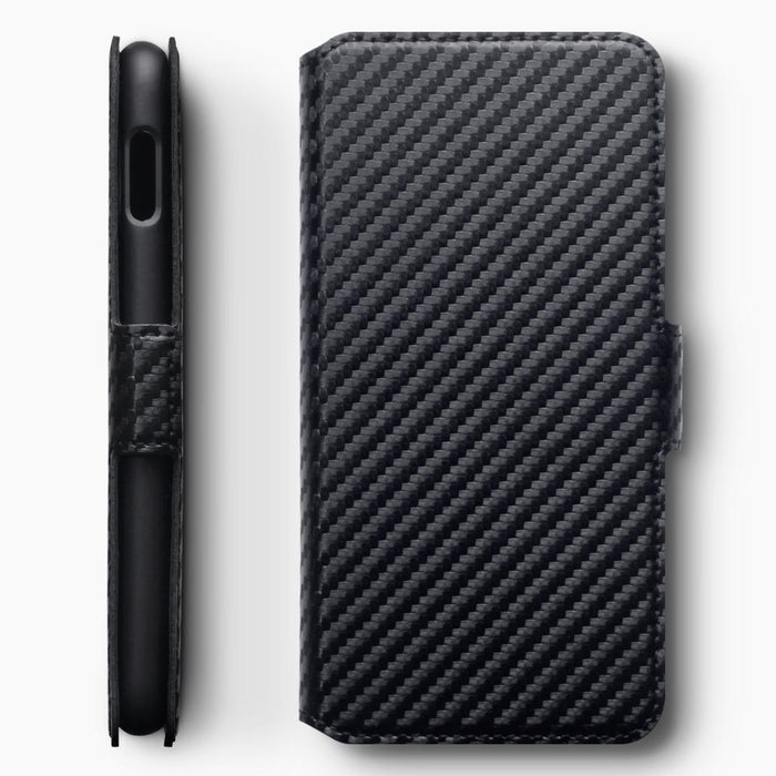 Terrapin Cases Terrapin Samsung Galaxy S10e Low Profile PU Leather Wallet Case - Black Carbon