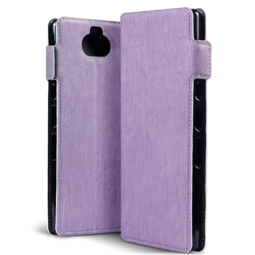 Terrapin Cases Terrapin Sony Xperia 10 Plus Low Profile PU Leather  Wallet Case - Purple