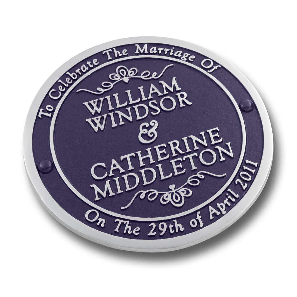 Personalised Wedding Gift Plaque.  Custom Gift For The Bride And Groom On Their Special Day. Unique Idea To The New Mr And Mrs Can Be From Parents, Siblings Or Friends Of The Couple