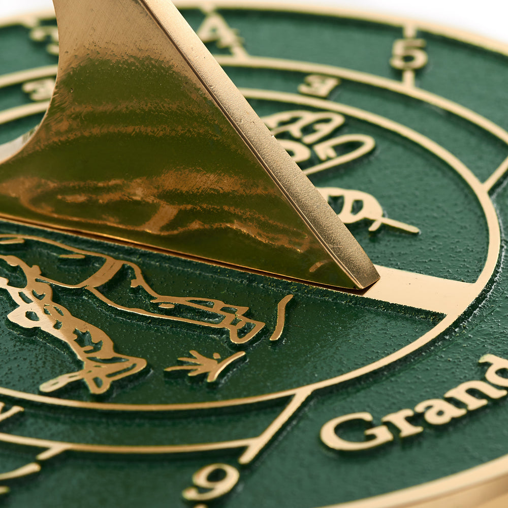 Grandad's Garden Sundial Gift. Great New Idea For His Garden Or Indoor Ornament As A Lasting Birthday, Christmas Or Fathers Day Card