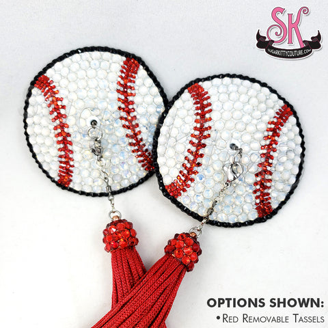 Baseball Softball Rhinestone Pasties