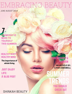 Embracing Beauty Magazine #2 - shinkah-beauty