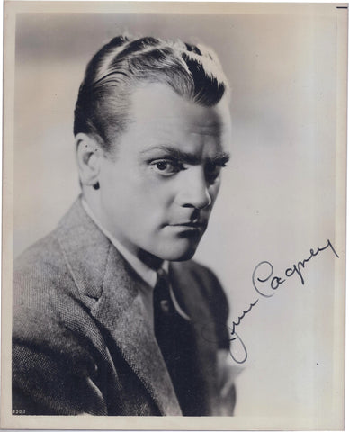 """Taxi!"", ""The Public Enemy"" & ""White Heat"" Actor James Cagney Autographed Headshot - $1.5K VALUE"