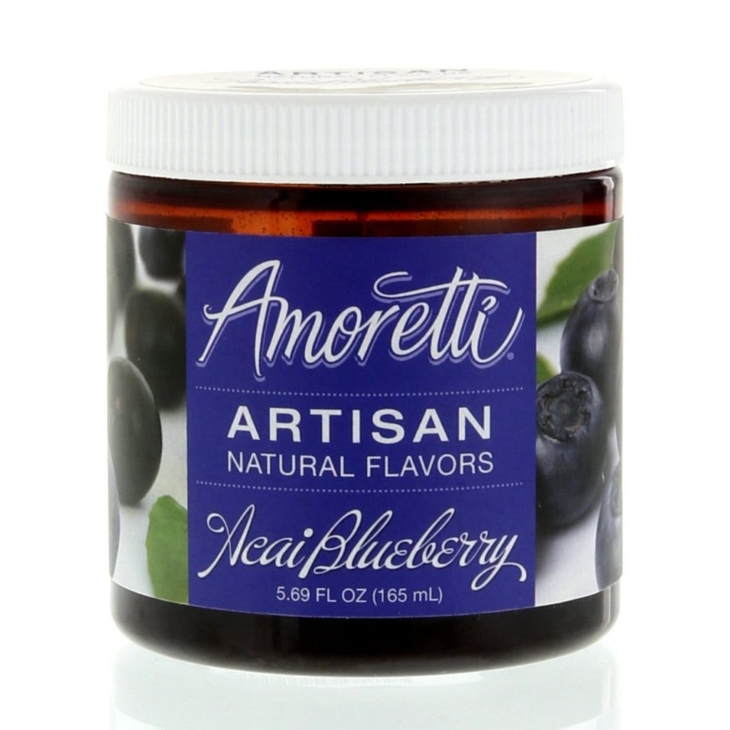 Amoretti Natural Acai Blueberry Artisan Flavor