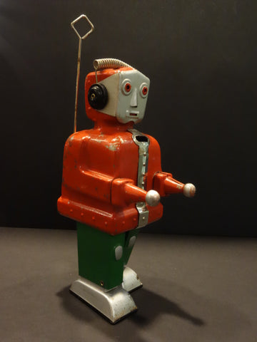 STRENCO Robot ST-1 Red & Green Nuremberg Toy Fair 1955