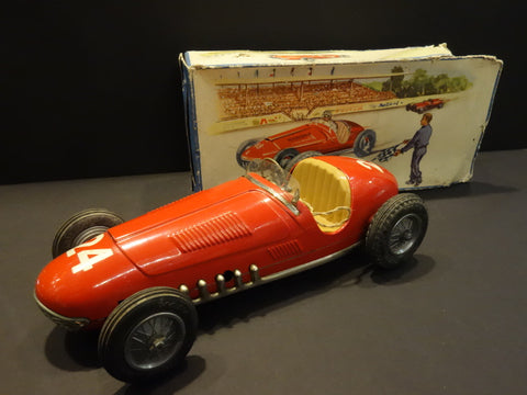 INGAP 300 Racing car FERRARI 500 RED #24 with box 1954