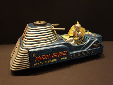 NOMURA 1955 Moon Car with Astronaut to complete