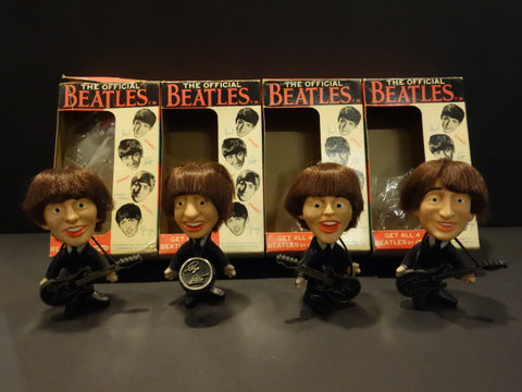 REMCO THE BEATLES Set Hard body 1964 Mint + ORIGINAL BOX