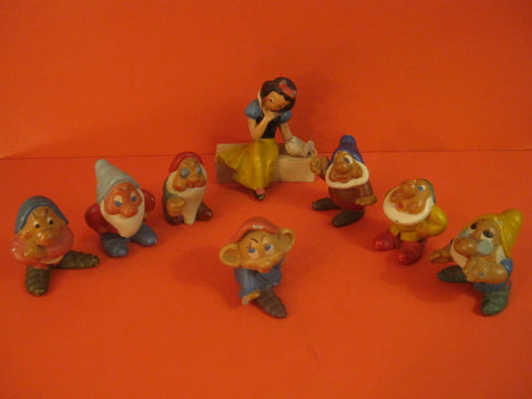 JRD Snow White & 7 Dwarfs Walt Disney France 1938