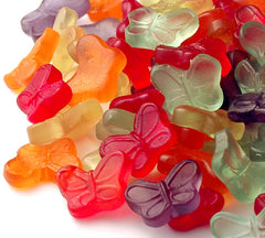 Gummi Butterflies Assorted (6 Flavors) 5LBS