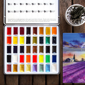 Komorebi Watercolor Paints - 40 Colors