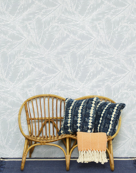 Best Fronds Removable Wallpaper - Storm - Wallshoppe