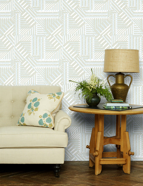 Bloc Removable Wallpaper - Straw - Wallshoppe