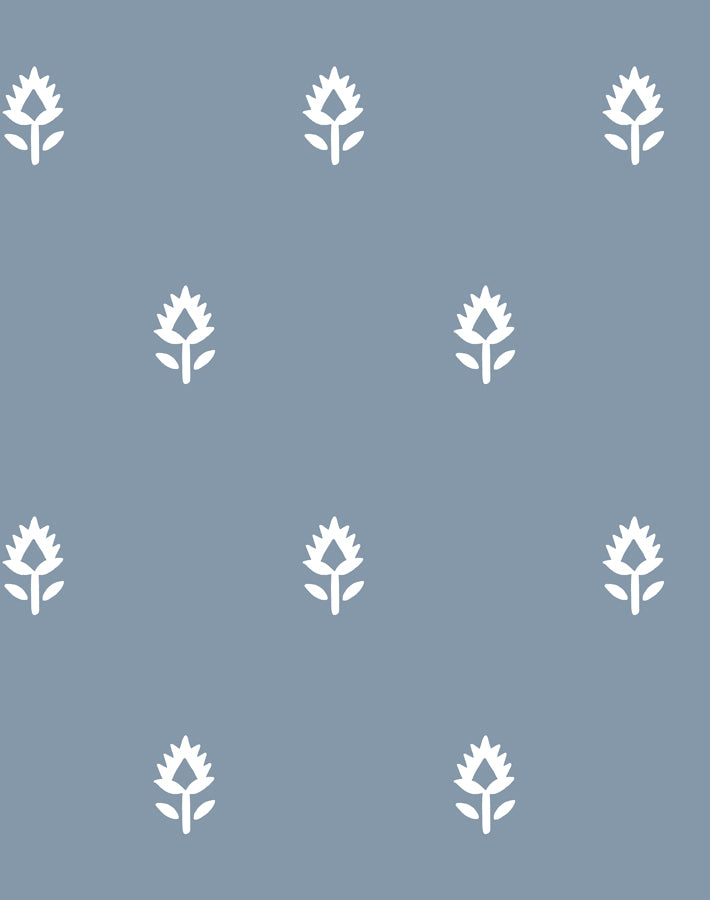 Block Print by Sugar Paper - French Blue - Wallshoppe