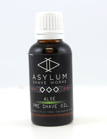 Asylum Shave Works Aloe Pre-Shave Oil (30ml)