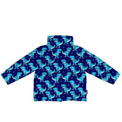 The Road Coat®Vegan - Navy / Raptor Print
