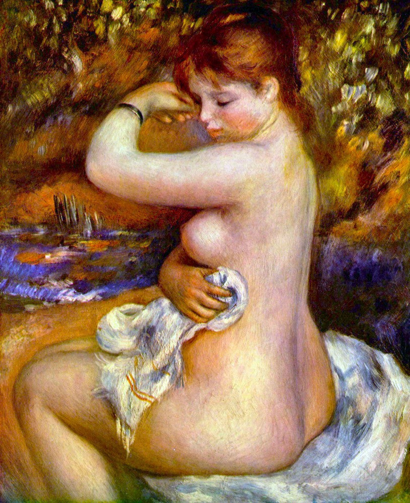 The Museum Outlet - After the bath by Renoir