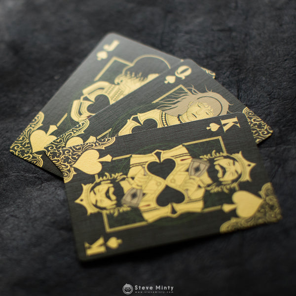Thorns and Roses playing Cards: Thorns