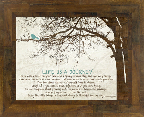 Life is a Journey SS9838