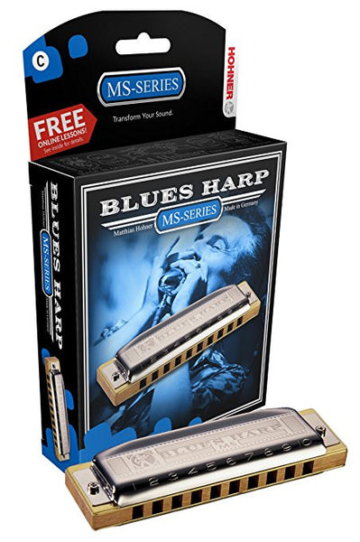 Harmonica - Hohner Blues Harp Diatonic 10-Hole