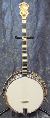 Vega 1935 Moderne Tenor Resonator Banjo - USED