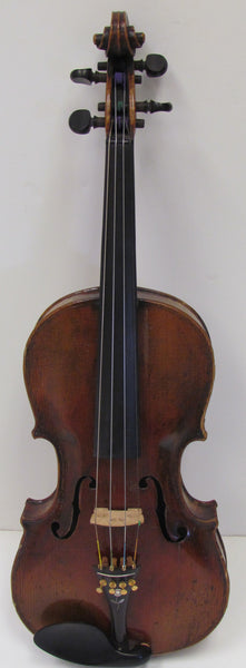 Violin - 4/4 Full Size Stainer Copy, Probably Made in Germany, Circa Early 1900s, Includes Bow and Hard Case - USED (M-4)