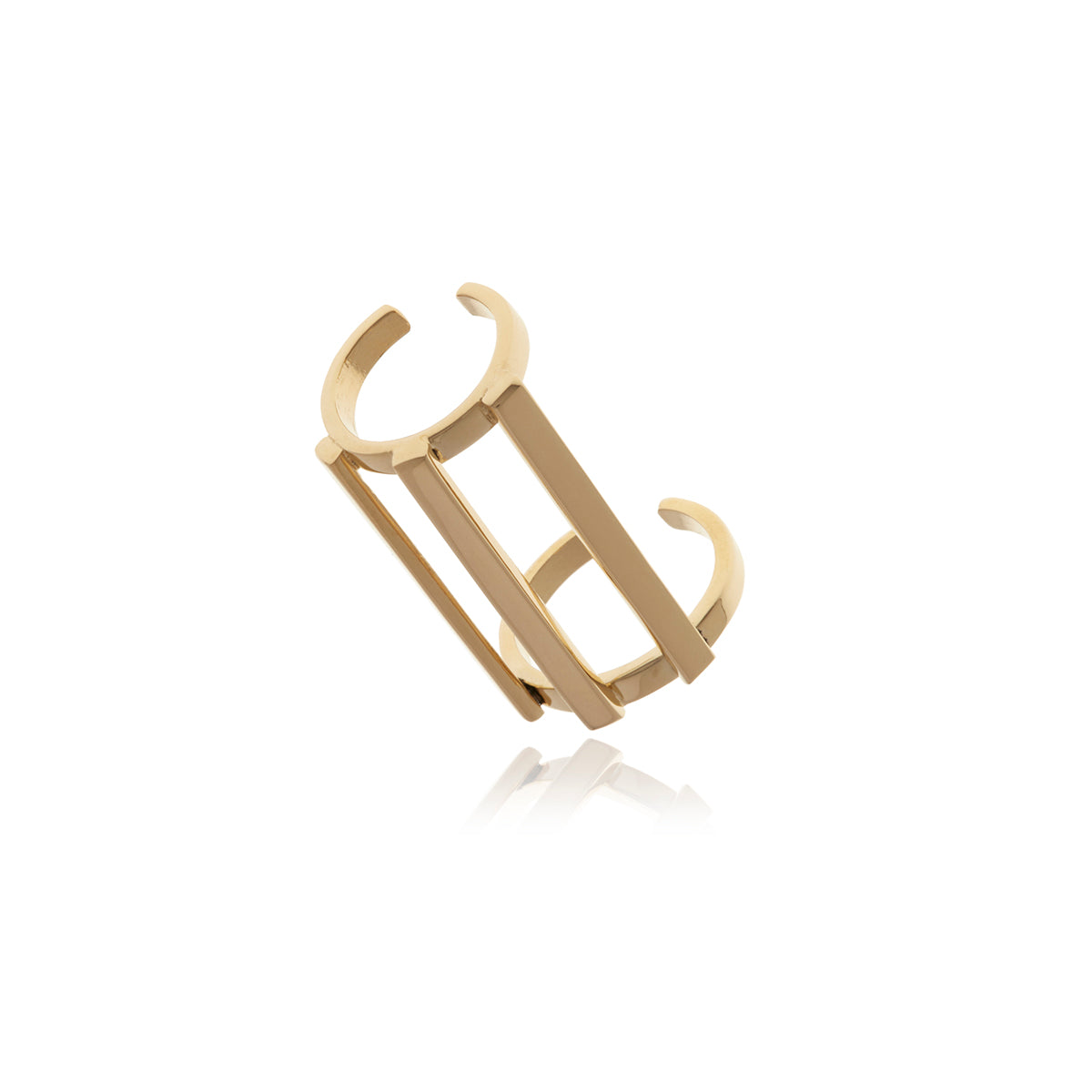 Gold Omega Ring - Georgina Jewelry