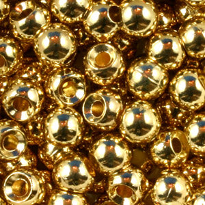 Gold Tungsten Beads