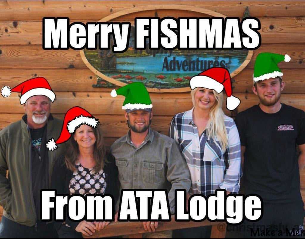 Merry Christmas and a very Happy New Year in 2019 from the McGees and ATA Lodge!