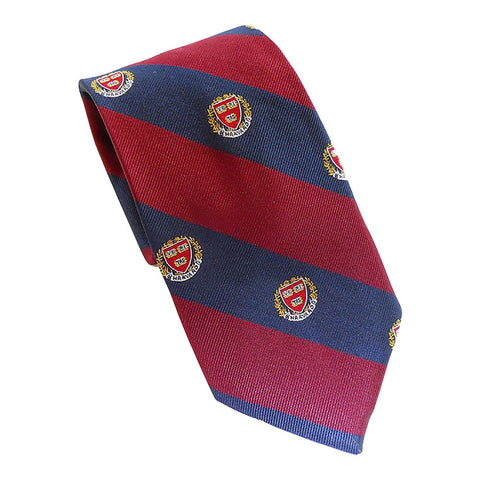Harvard - Seal Tie (Silk)