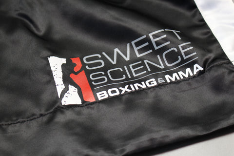 Sweet Science Boxing Comeptition Trunks - Black - Sweet Science Boxing - 1