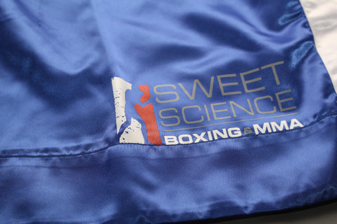 Sweet Science Boxing Comeptition Trunks - Blue - Sweet Science Boxing - 1