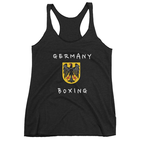 Germany Boxing Team Women's tank top