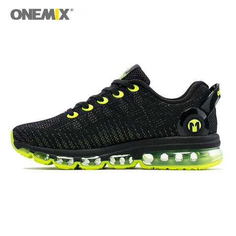 Onemix Running Reflective Mesh Outdoor Sports Jogging Walking Shoe