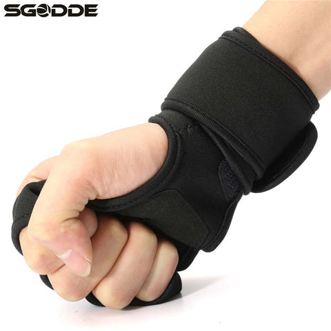 Sport Gym Training Gloves with Wrist Lock For Body Building