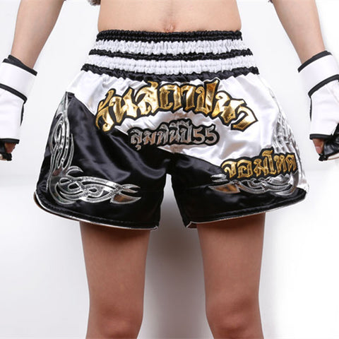 Muay Thai Kick Boxing Fight Trunks