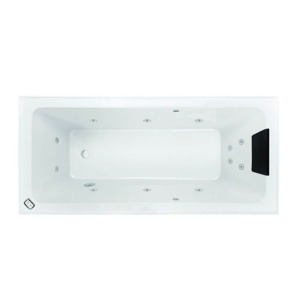 1670 x 765 x 450 mm Cortez Spa Bath