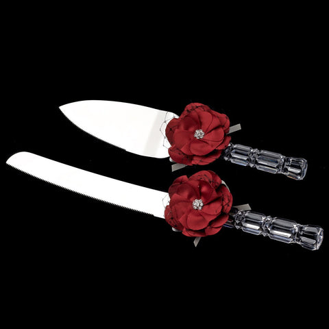Accessories, Cake Server, Flower, Reception, Red