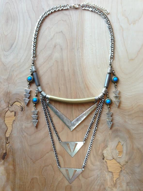 Royal Shield Necklace