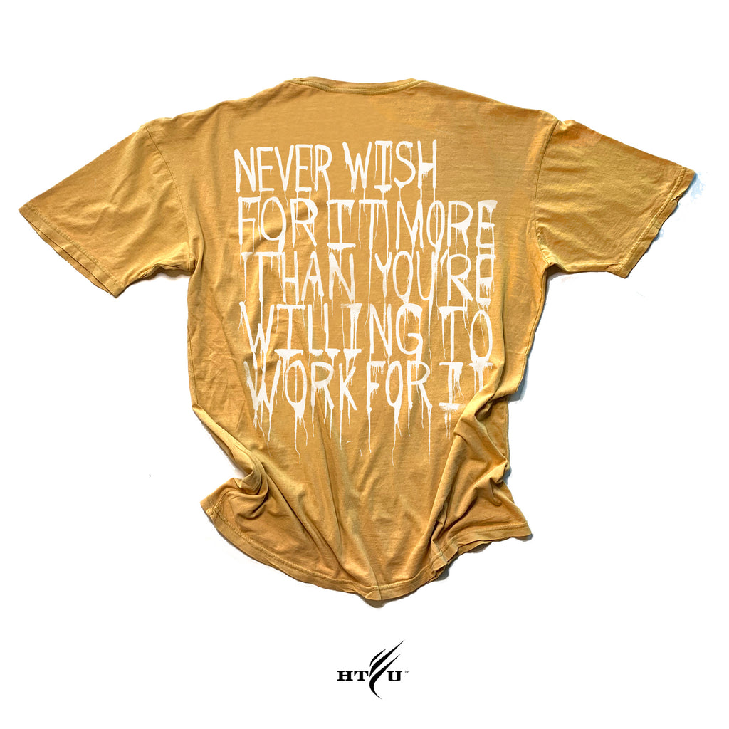 Never Wish - Vintage Yellow