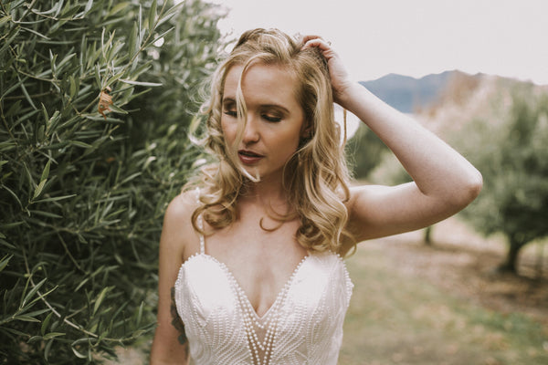 Margarite Wedding Dress. Wanaka Wedding Dress. Ivory and Stone Bridal. Unique Wedding Dress. New Zealand Wedding Dress